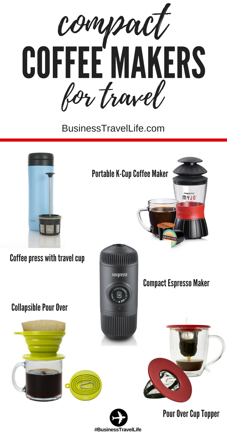 travel size coffee maker business travel life