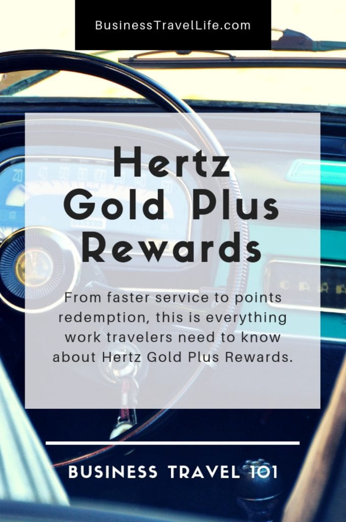 Hertz gold plus rewards, business travel life 2