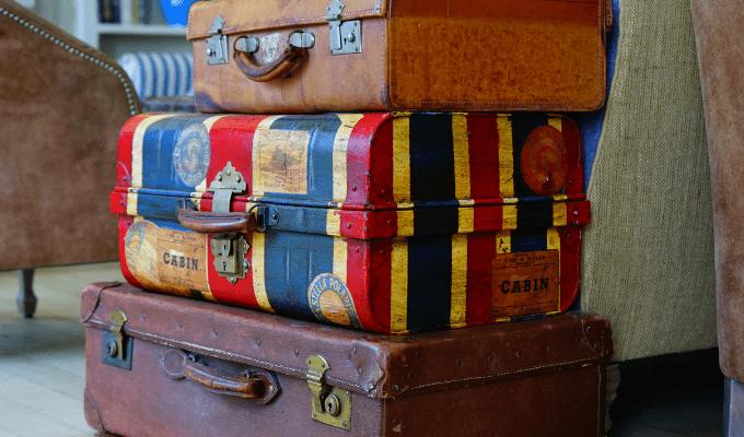 Luggage storage, business travel life