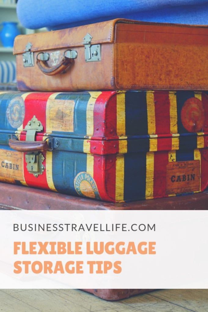 Luggage storage, business travel life, pinterest