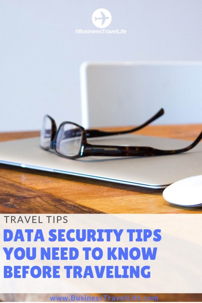 data security tips for travel