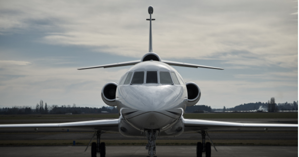 business travel by private jet