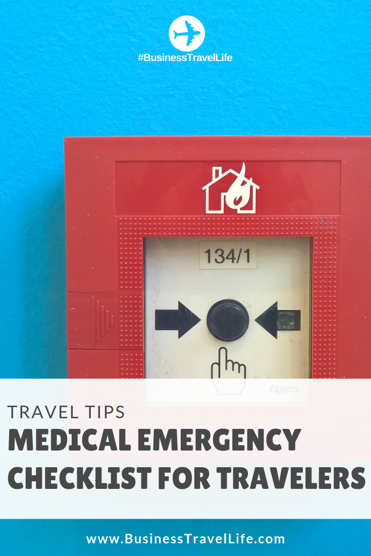 emergency during travel, business travel life