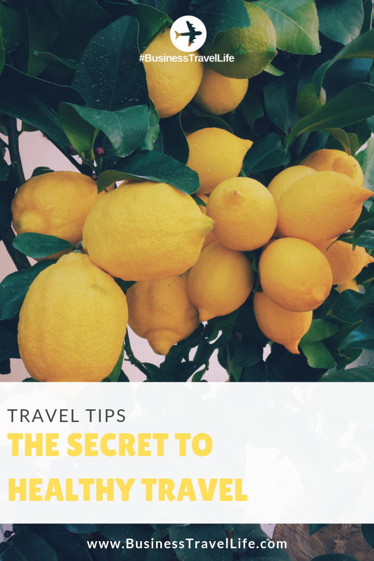 the secret ingredient to healthy travel, business travel life