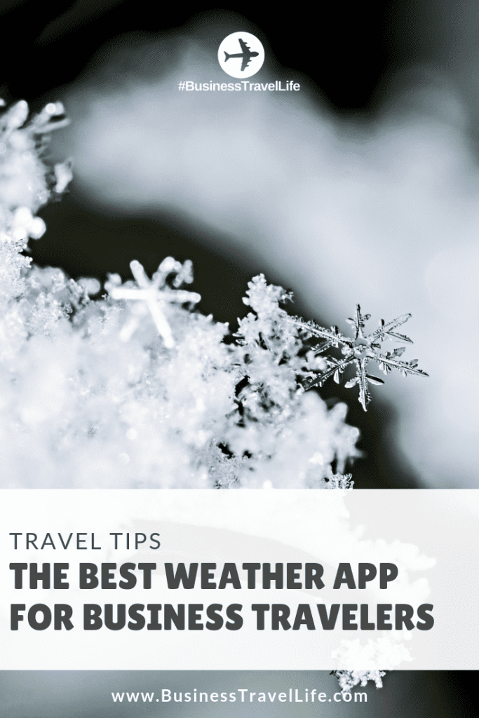 best weather app, Business Travel Life