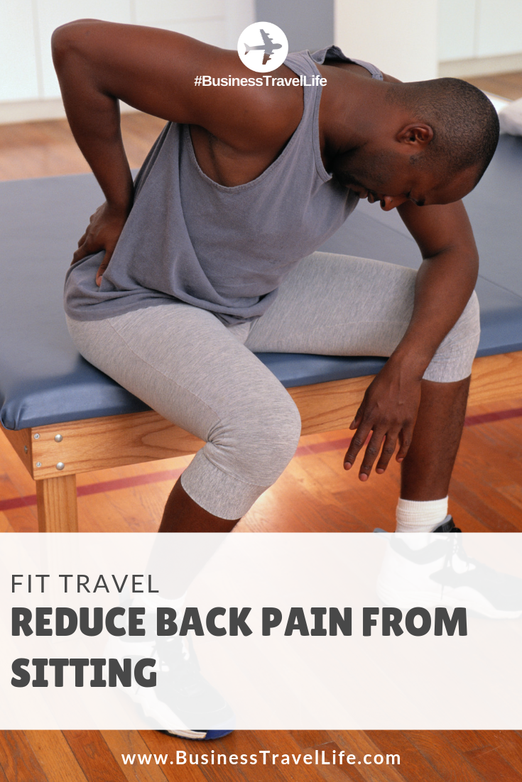 lower back pain from sitting, Business Travel Life