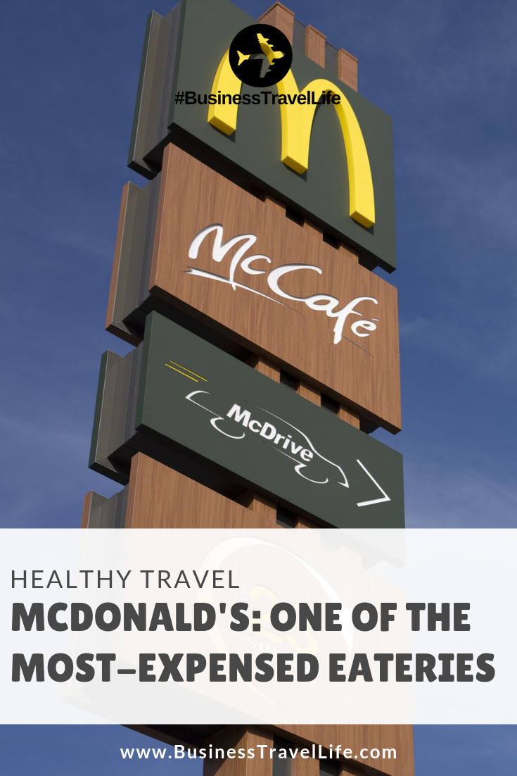 mcdonald's menu, Business Travel Life