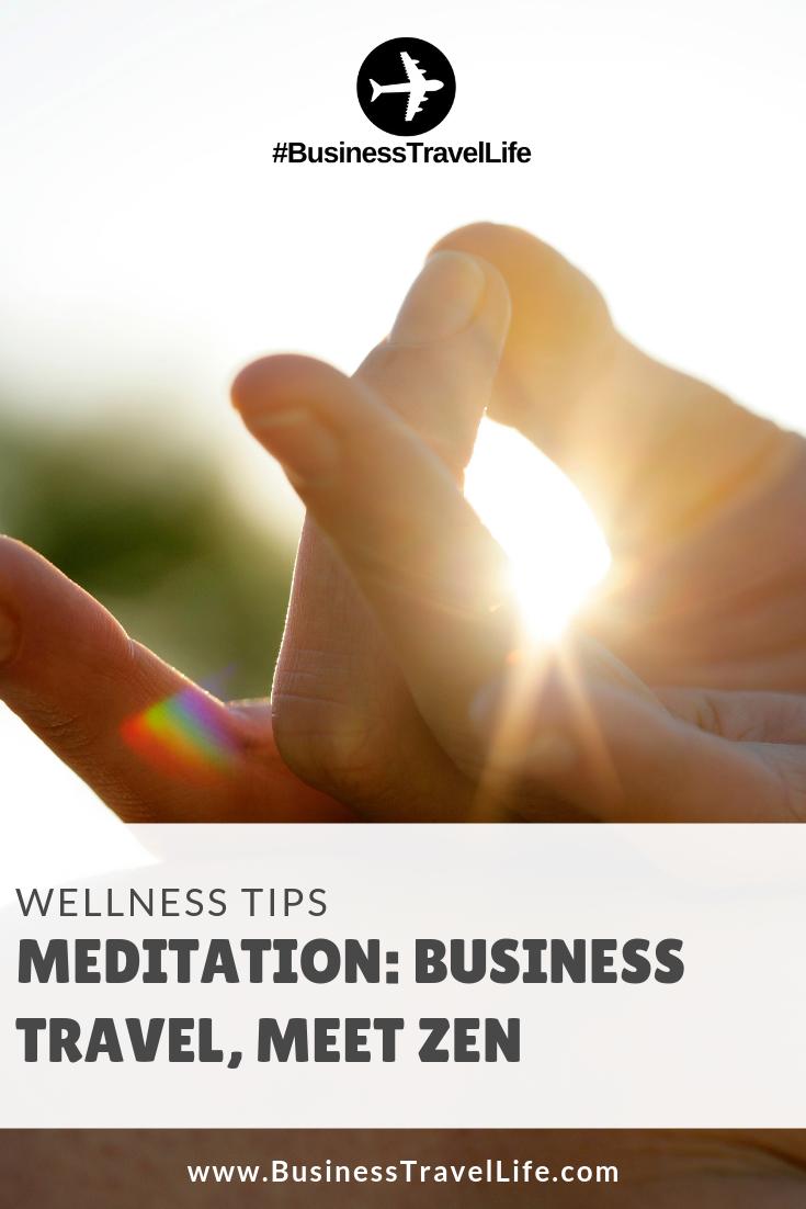 meditation, Business Travel Life