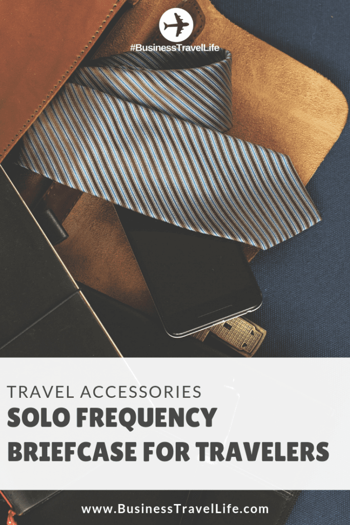 solo frequency briefcase, Business Travel Life