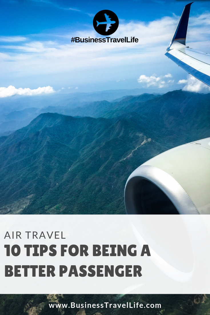 tips for flying, Business Travel Life