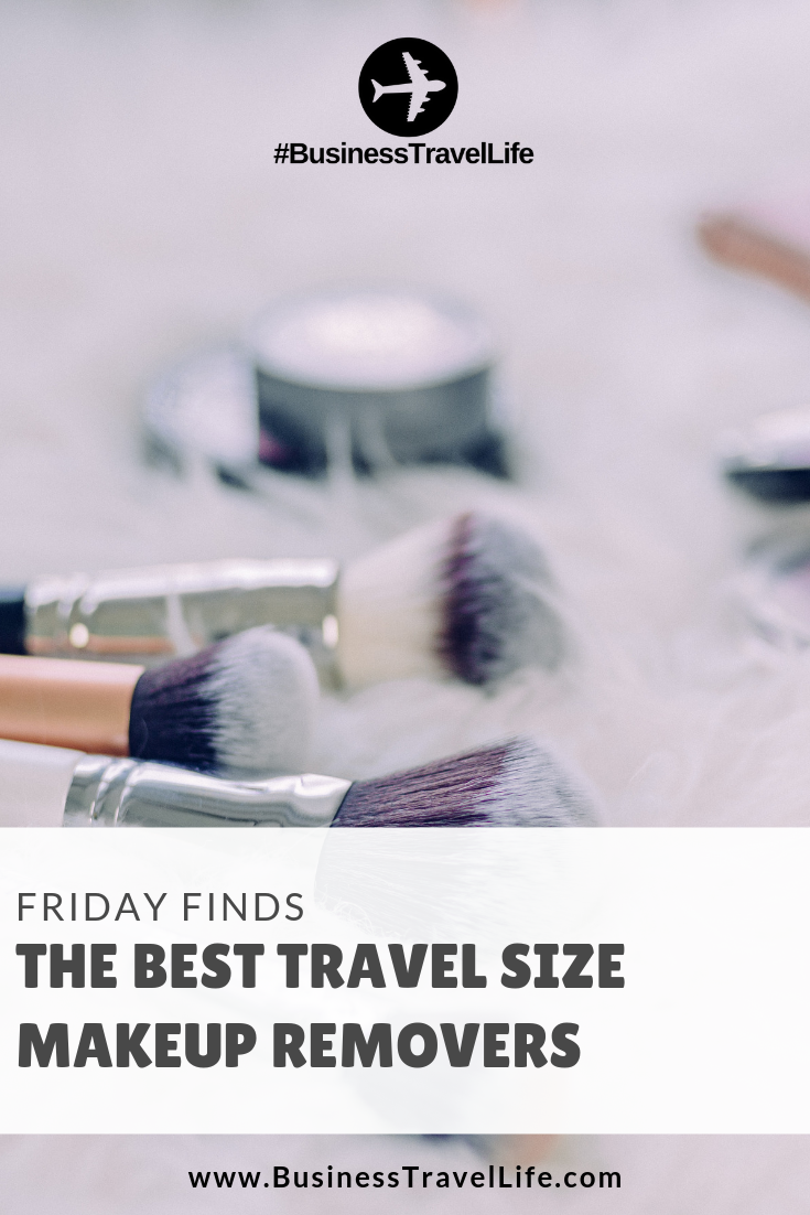 travel size makeup remover, Business Travel Life