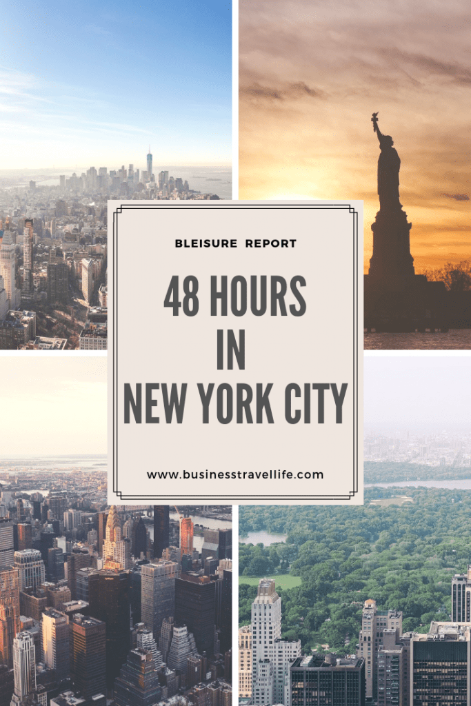 48 Hour In New York City