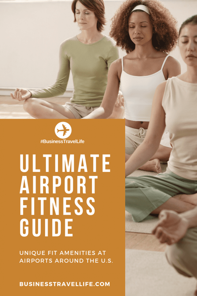 airport fitness guide, business travel life, pinterest