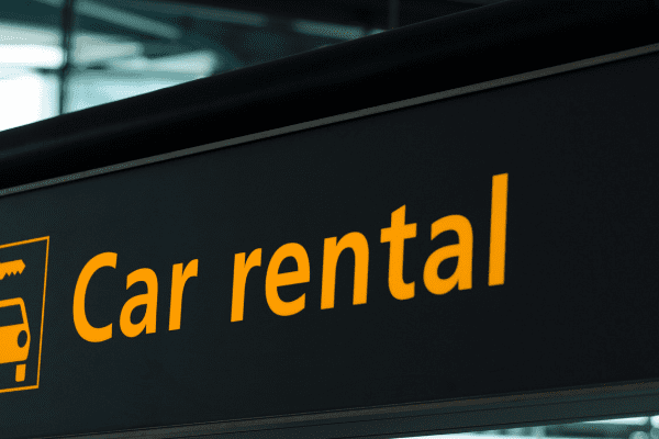 car rental return business travel life
