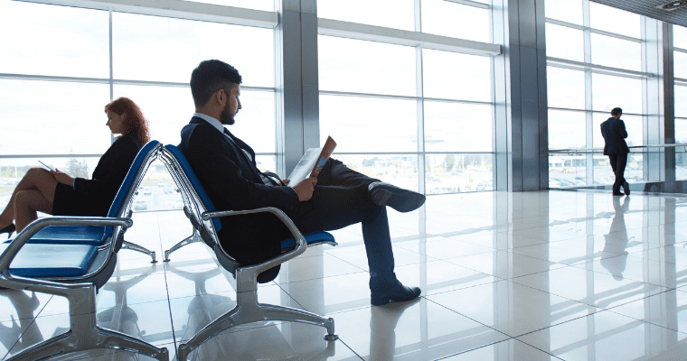 Productivity Tips Business Travel Blog Header