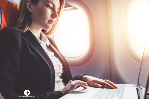 productivity tips business travel