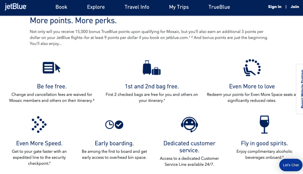 jetblue trueblue, business travel life 3