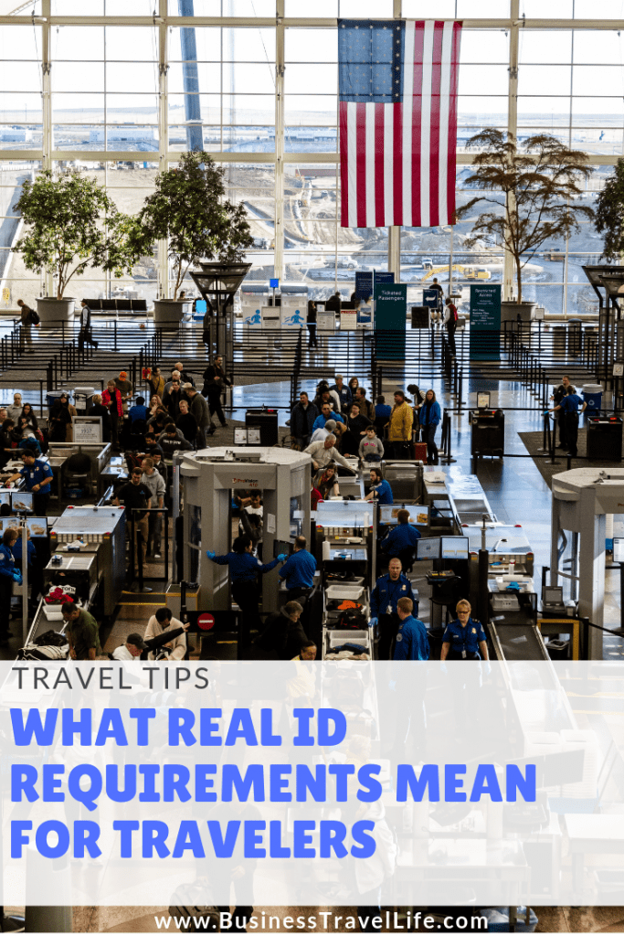 real id compliant drivers license business travel life