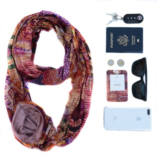 best gifts for travelers scarf