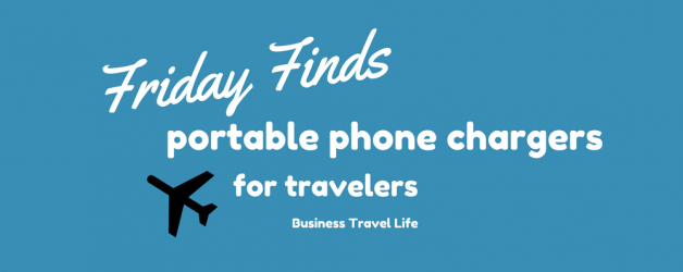 Friday Finds: 5 Portable Phone Chargers for Travel